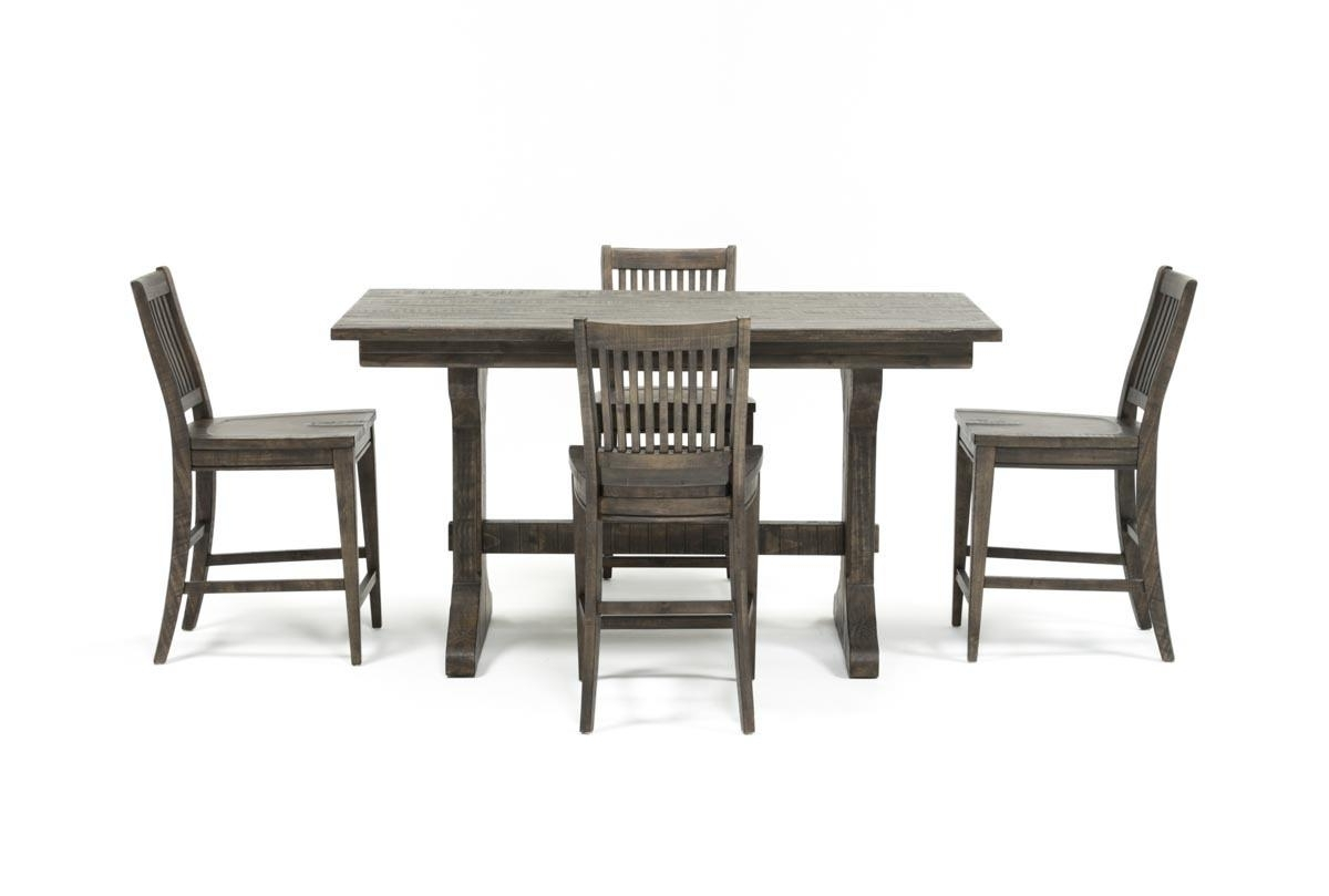 Living Spaces Pertaining To Valencia 4 Piece Counter Sets With Bench & Counterstool (View 9 of 25)
