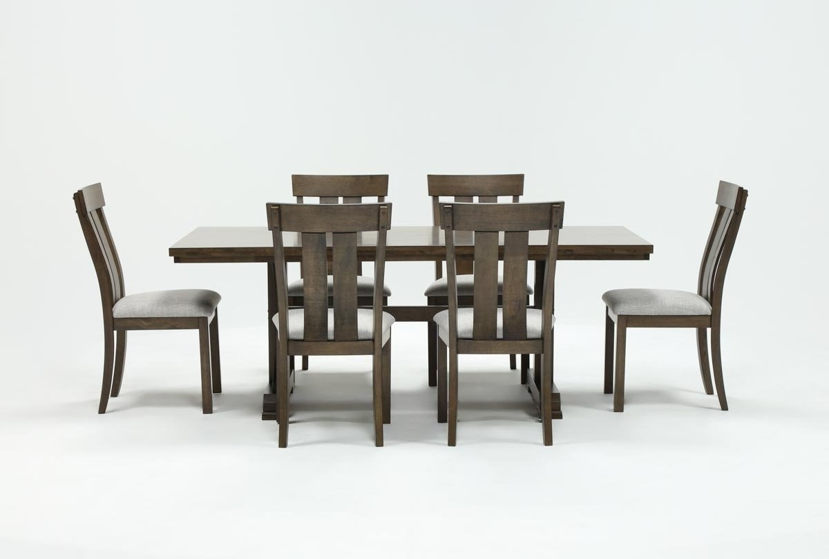 Living Spaces Throughout Parquet 7 Piece Dining Sets (View 7 of 25)