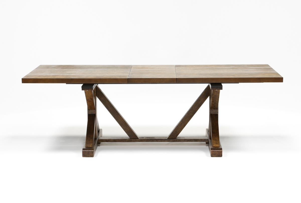 Living Spaces With Favorite Chandler Extension Dining Tables (View 1 of 25)
