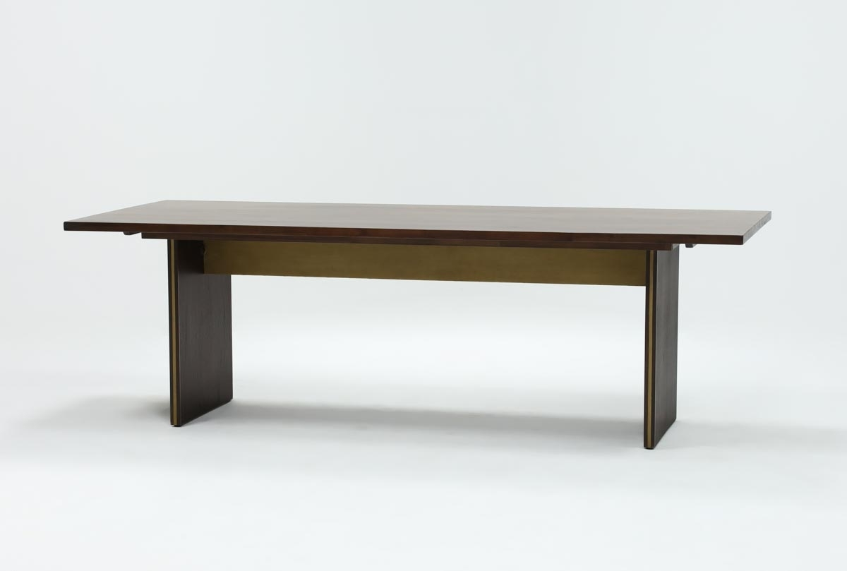 Living Spaces With Regard To Well Known Crawford Rectangle Dining Tables (View 11 of 25)
