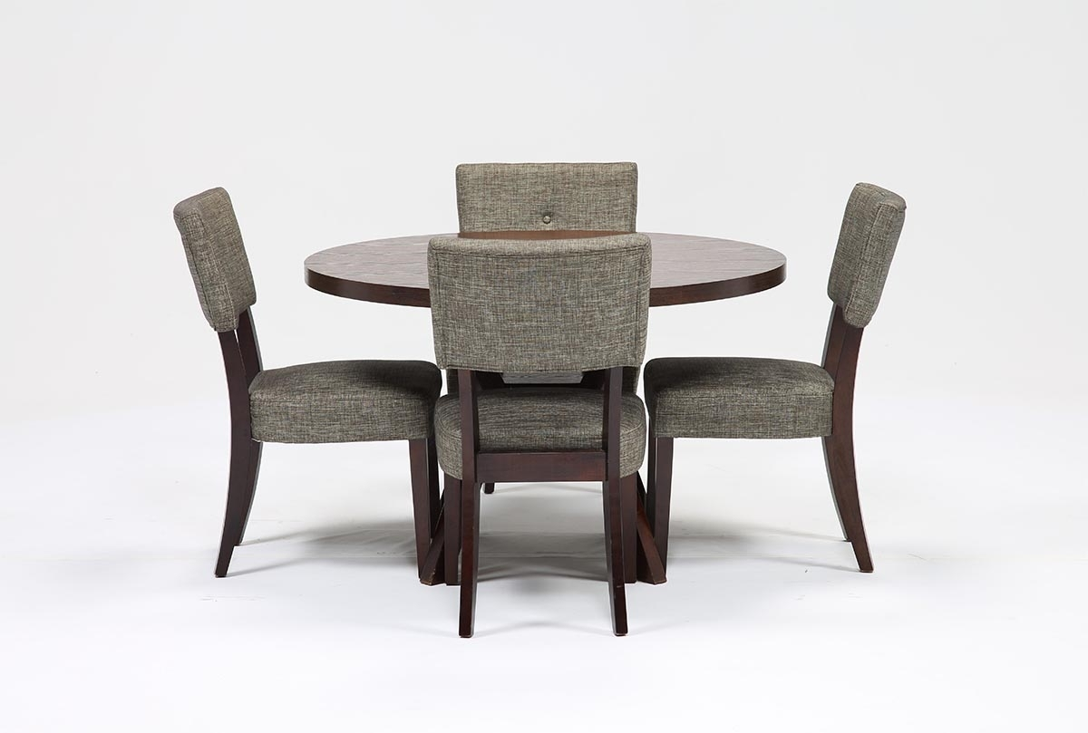 Living Spaces Within Most Recently Released Macie Round Dining Tables (View 6 of 25)