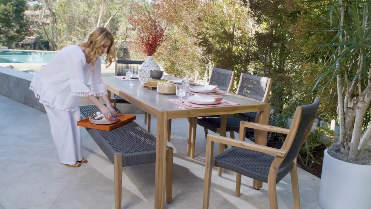 Living With Regard To Favorite Outdoor Sienna Dining Tables (View 2 of 25)