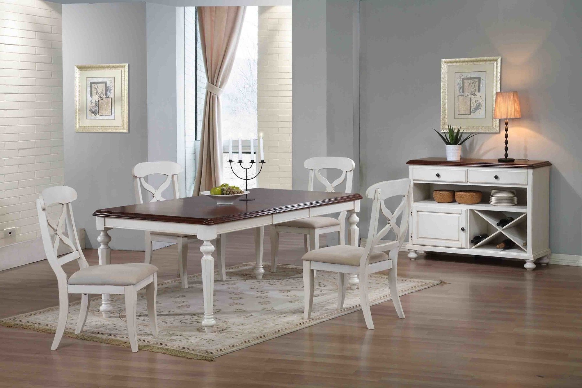 Lockwood Butterfly Leaf 6 Piece Dining Set (View 9 of 25)
