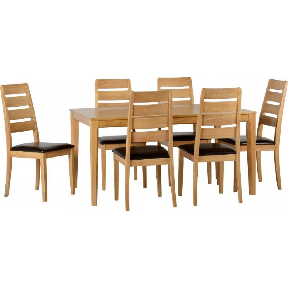 Logan 6 Piece Dining Sets Inside Famous Logan 1+6 Dining Set (View 5 of 25)