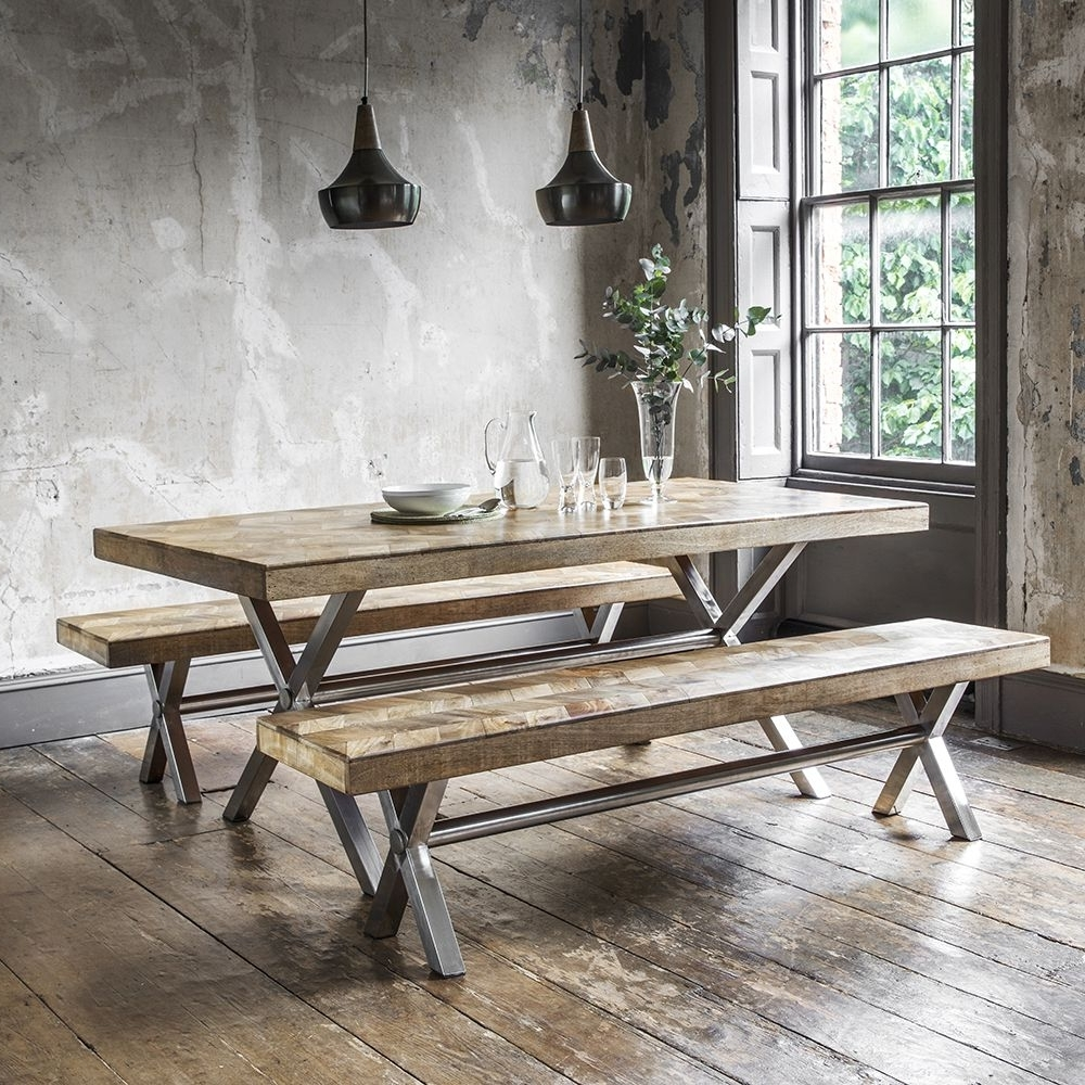 Logan Dining Tables With Popular Logan Dining Table In Natural Finish (View 2 of 25)