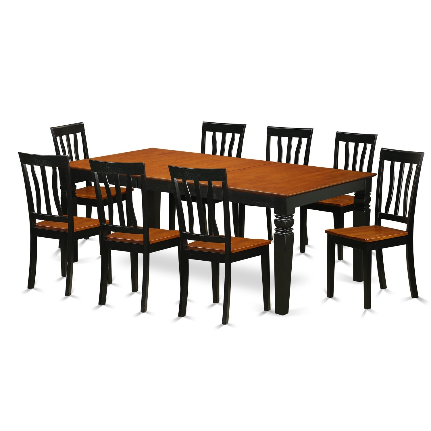 Logan Dining Tables Within Well Known Shop 9 Piece Dining Set With 1 Logan Dining Table And 8 Dining (View 20 of 25)