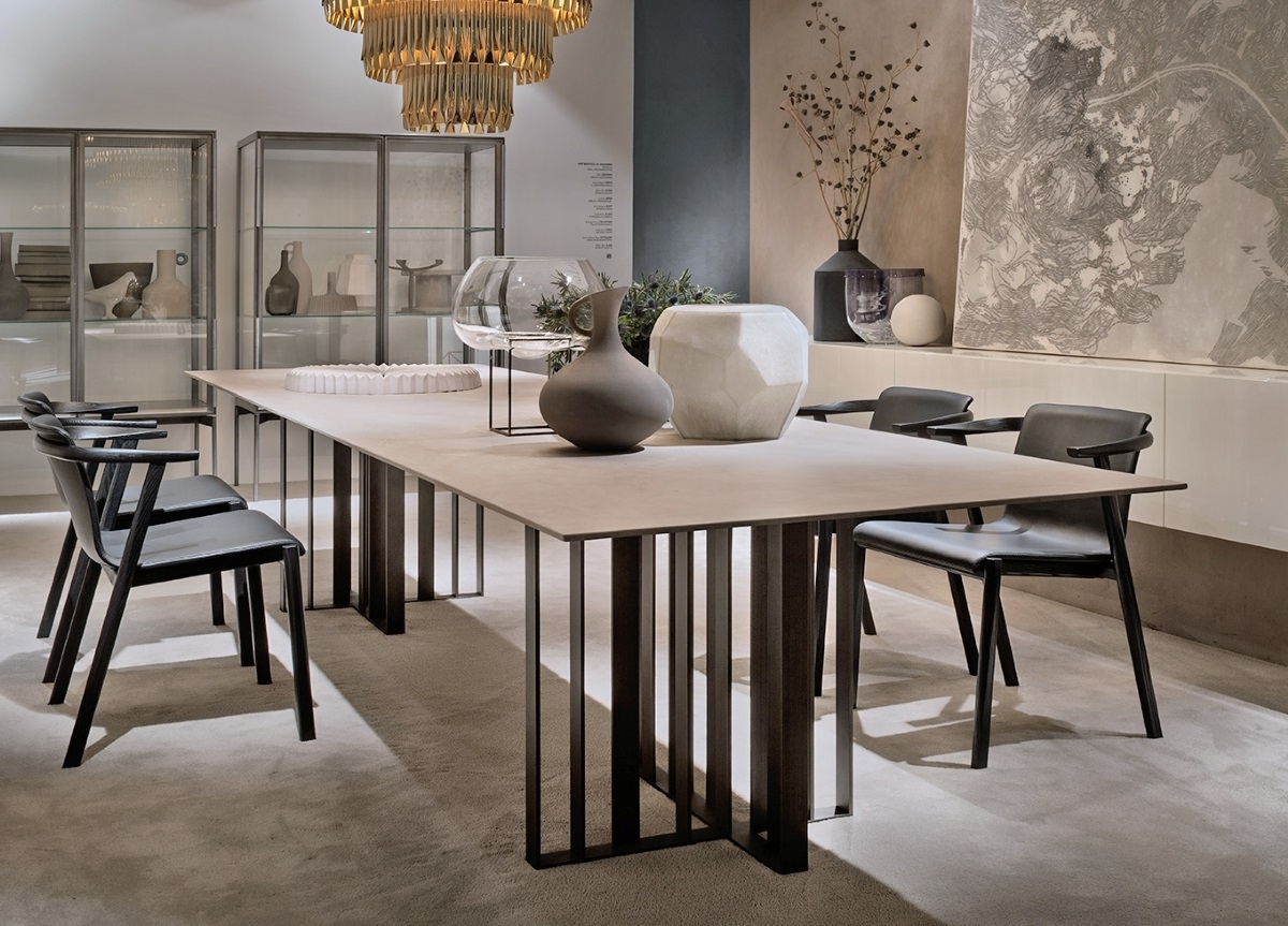 London Dining Tables In Newest Lema Shade Dining Table – Lema Furniture In London At Go Modern (View 4 of 25)