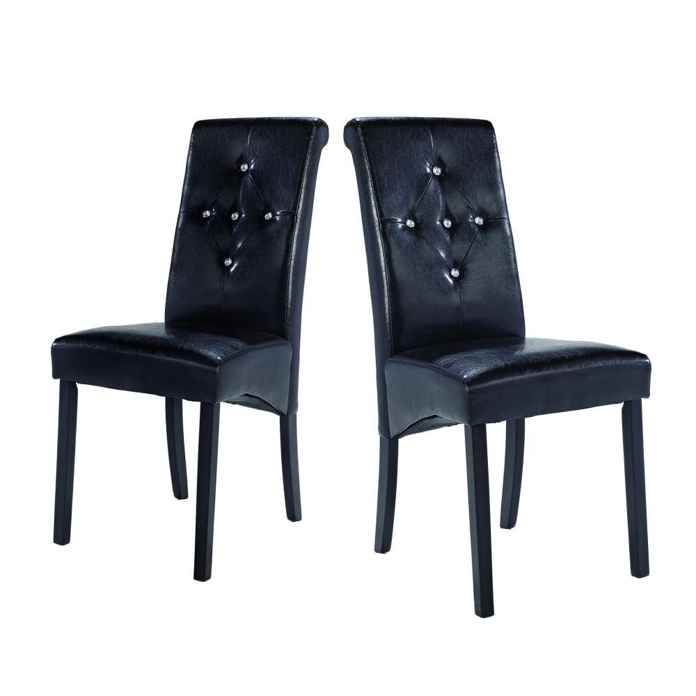 Lpd Furniture Monroe Black Dining Chair (View 9 of 25)