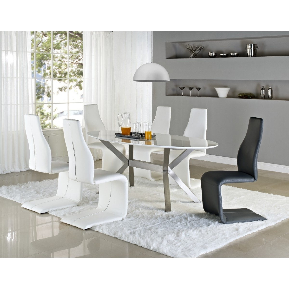 Lumen Home Designslumen Home Designs Intended For Shiny White Dining Tables (View 11 of 25)