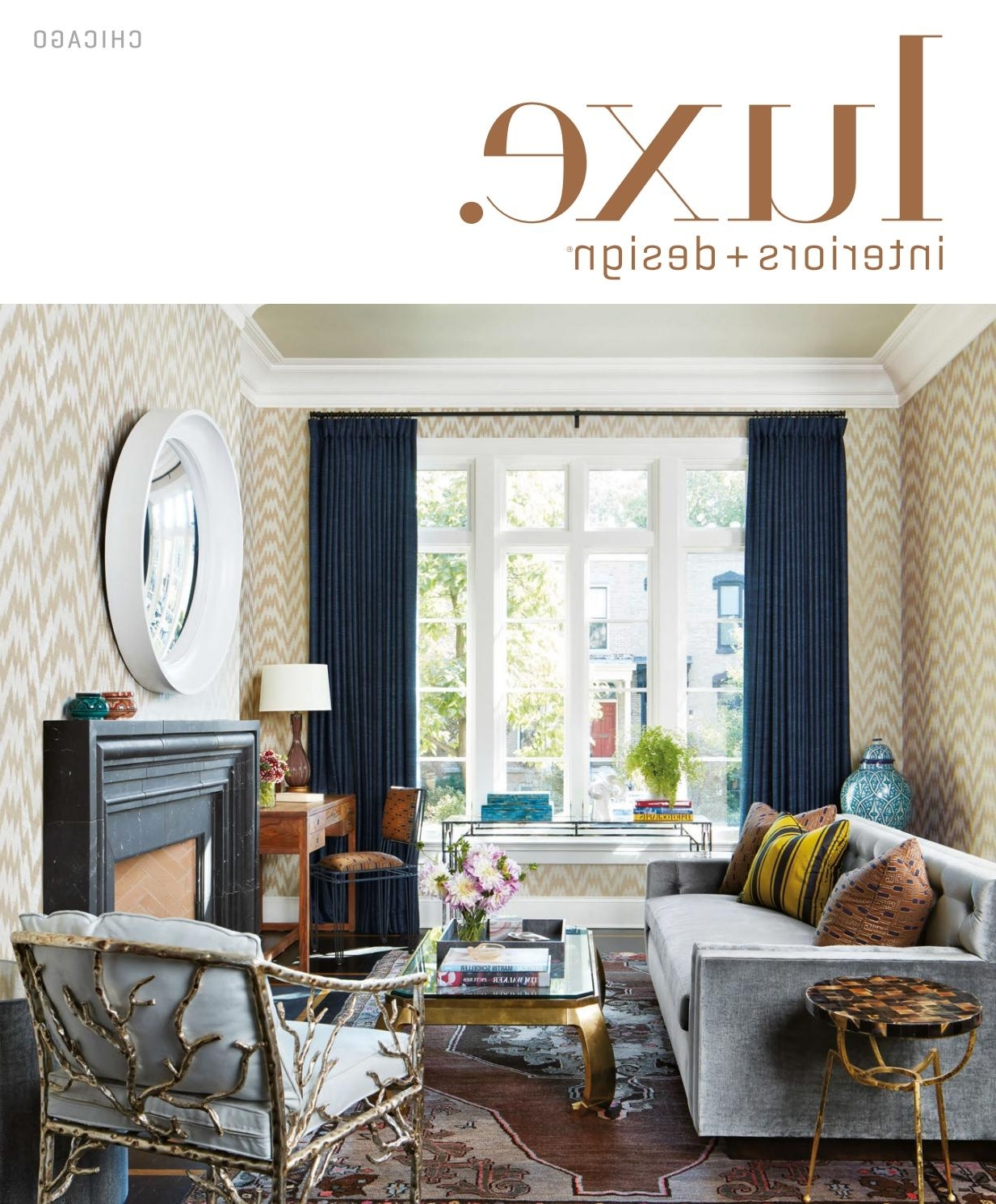 Luxe Magazine May 2017 Chicagosandow® – Issuu In Widely Used Palazzo 7 Piece Dining Sets With Mindy Slipcovered Side Chairs (View 14 of 25)