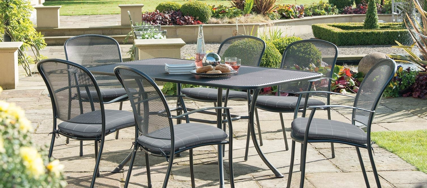 Luxury Metal Garden Furniture – Kettler Official With Regard To Cora 5 Piece Dining Sets (View 20 of 25)