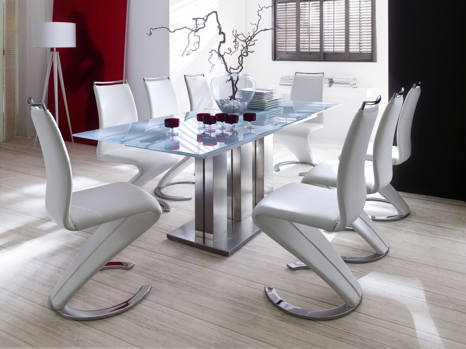 Luxury Modern Dining Room Tables — Bluehawkboosters Home Design With Popular Modern Dining Room Sets (View 9 of 25)