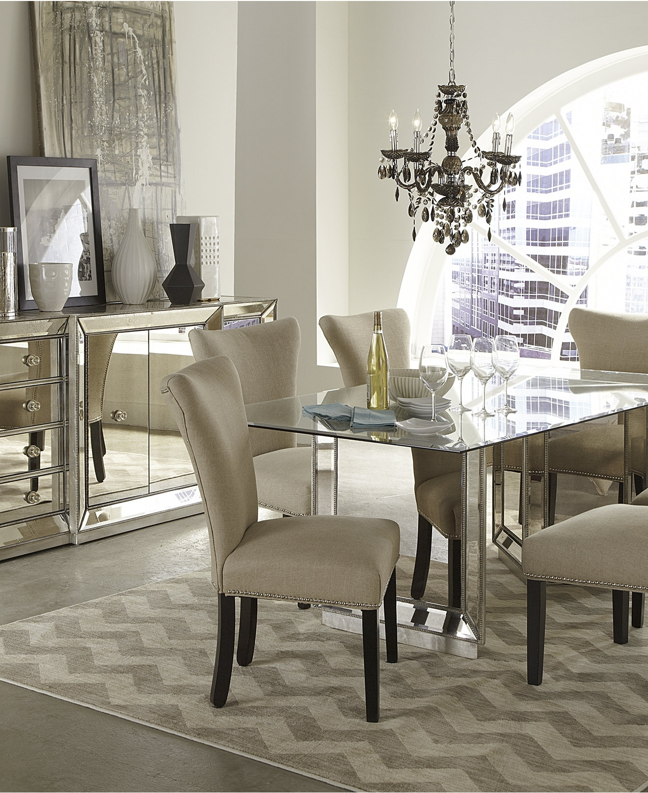 Macy's Round Dining Table Set • Table Setting Design In Most Up To Date Macie 5 Piece Round Dining Sets (View 19 of 25)