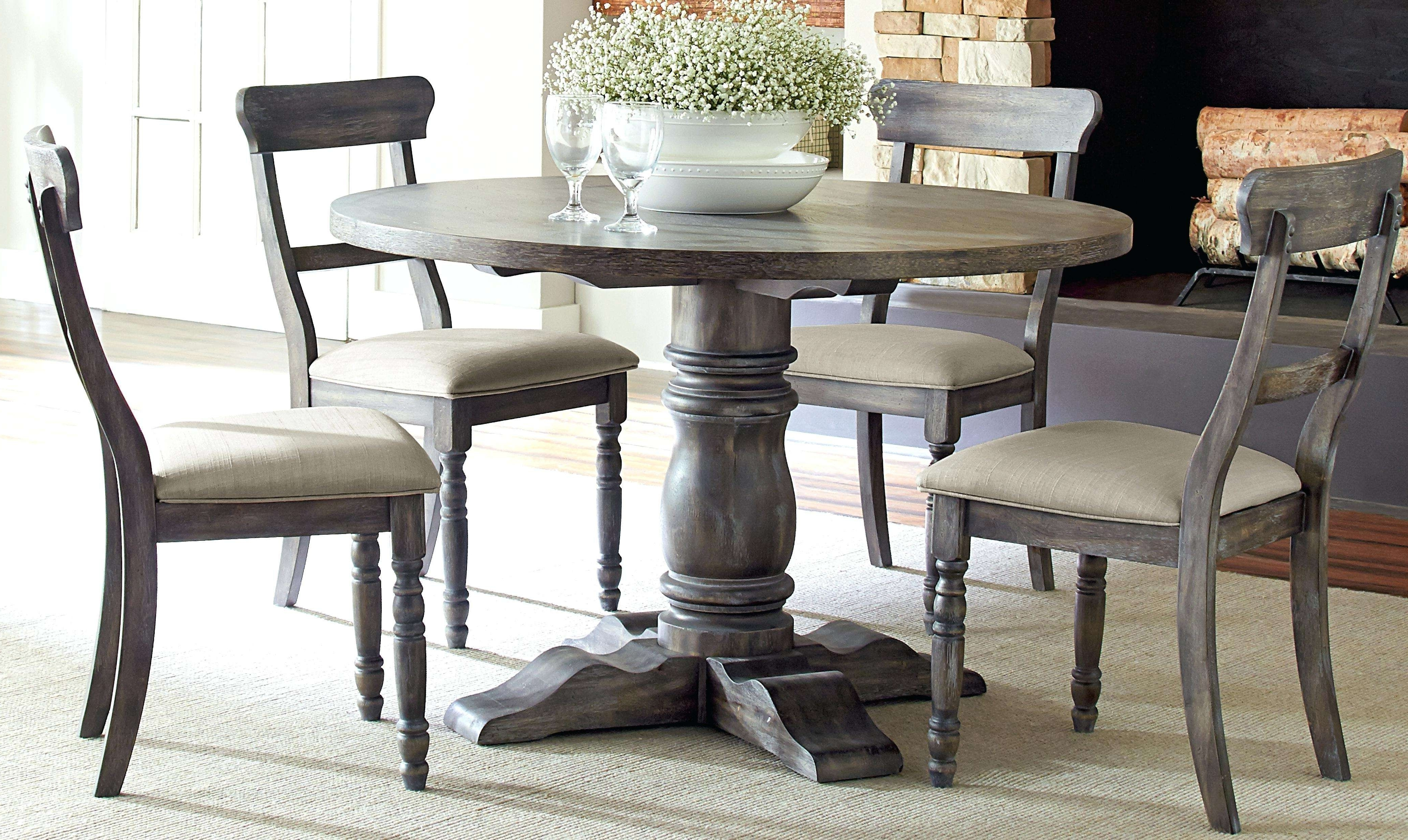Magnolia Home Breakfast Round Black Dining Tables With 2017 Bristol Dining Table Luxury Marvelous Round Breakfast Table (View 15 of 25)