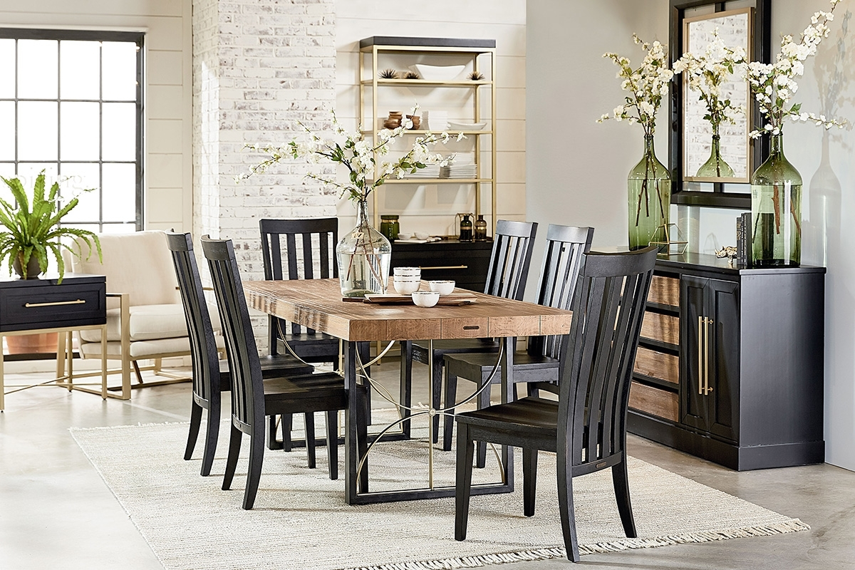 Magnolia Home Dining Table Ideas : Donosti Knit Design – Ideas To Within Widely Used Magnolia Home Double Pedestal Dining Tables (View 7 of 25)