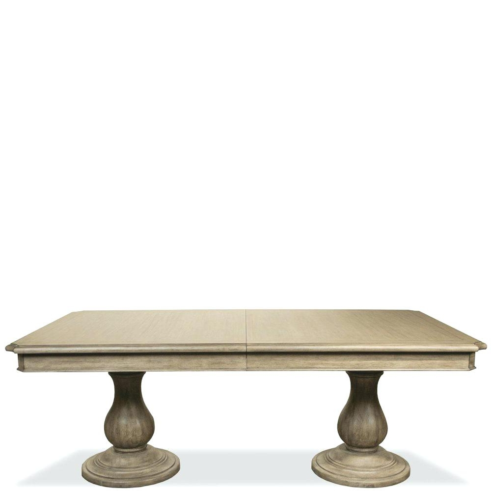 Magnolia Home Double Pedestal Dining Tables Intended For Most Popular Double Pedestal Dining Table Zoom Images Double Pedestal Dining (View 9 of 25)