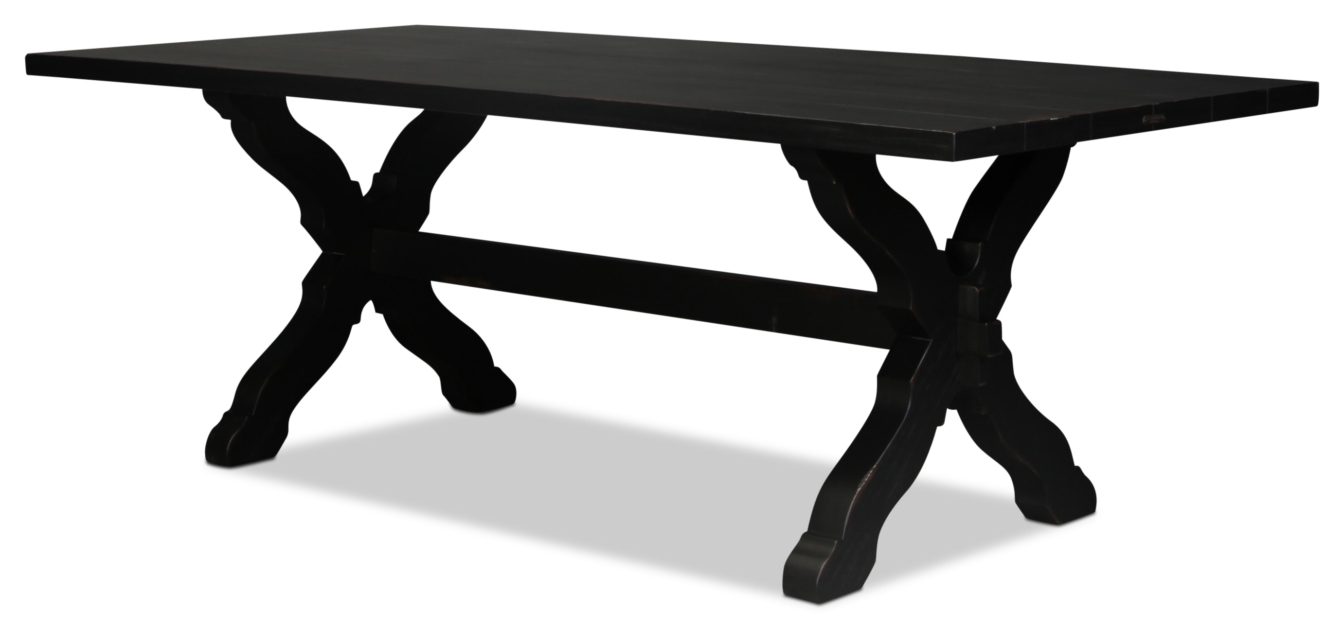 Magnolia Home Primitive Sawbuck Dining Table (View 10 of 25)
