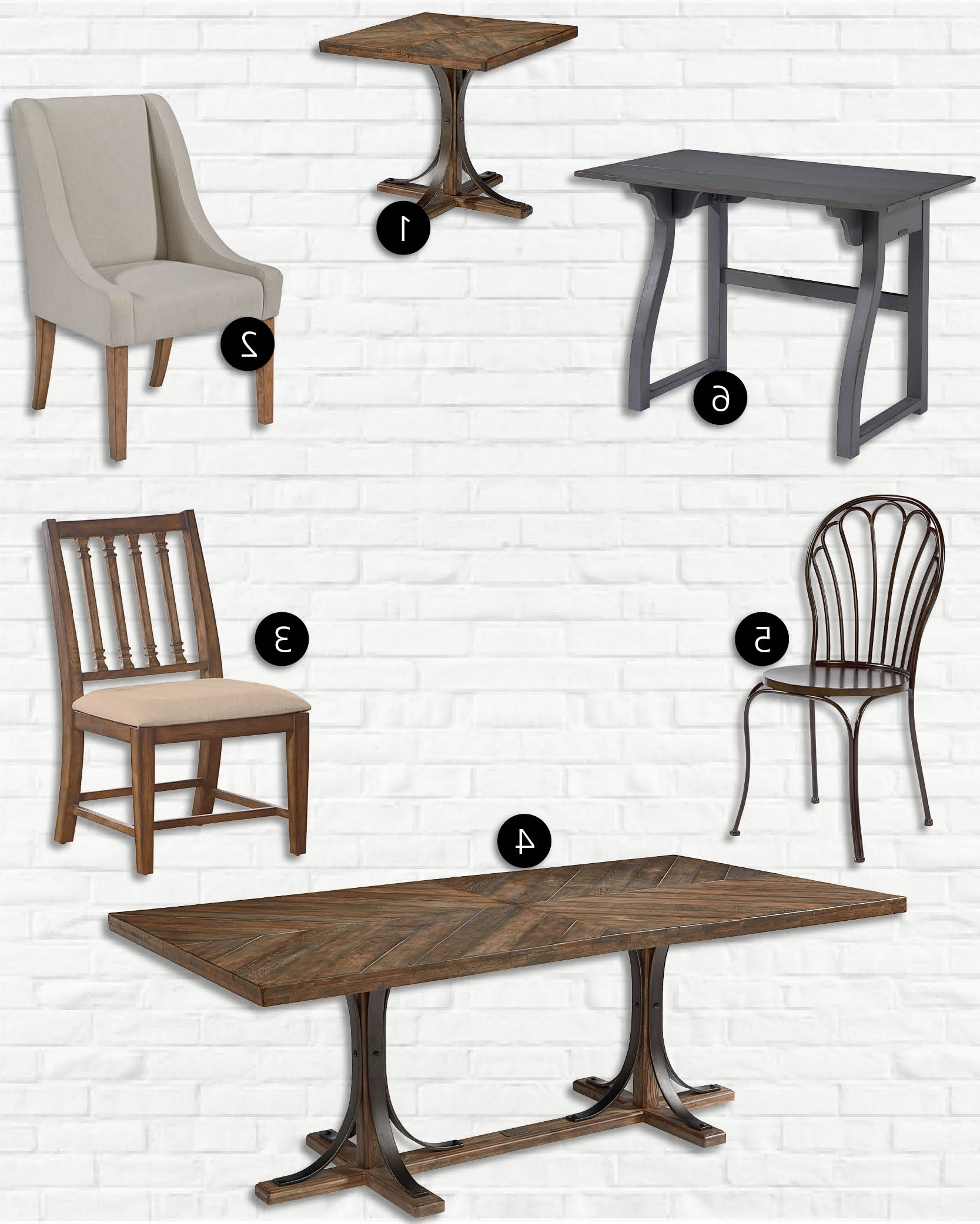 Magnolia Home Sawbuck Dining Tables Inside Trendy Celebrity Look For Less: Magnolia Homejoanna Gaines (View 12 of 25)