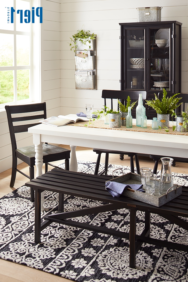 Magnolia Home Taper Turned Jo's White Gathering Tables Intended For Well Liked Give Your Dining Room A Charming Farmhouse Update With The Magnolia (View 10 of 25)