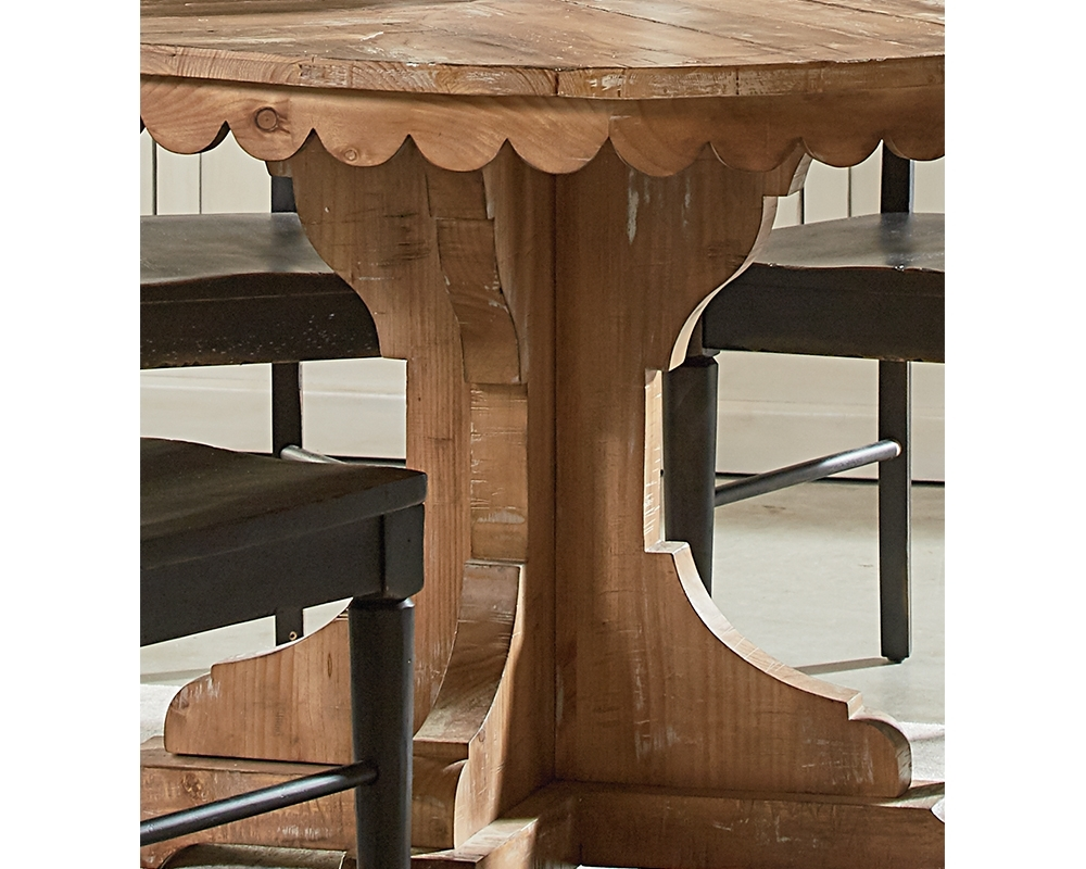 Magnolia Home Top Tier Round Dining Tables In Best And Newest Top Tier Pedestal Table – Magnolia Home – Joanna Gaines (View 13 of 25)