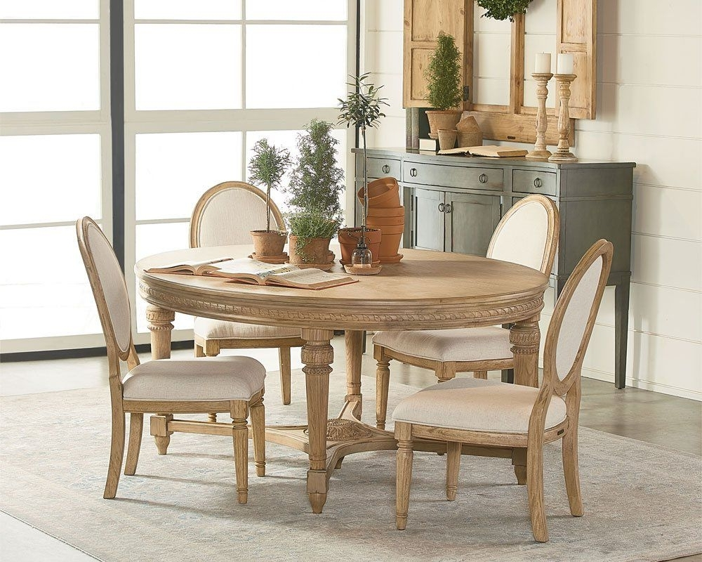 Magnolia Home Traditional Dining Table (View 19 of 25)