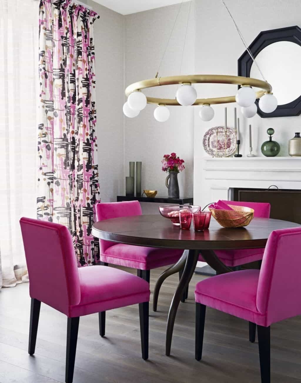 Magzboomers Intended For Dining Tables And Purple Chairs (View 15 of 25)