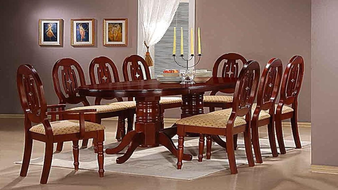 Mahogany Dining Table Sets – Castrophotos Throughout Most Popular Mahogany Dining Table Sets (View 10 of 25)