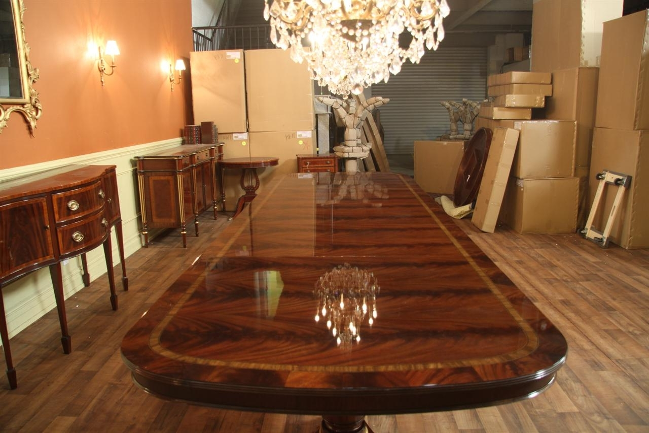 Mahogany Dining Tables Sets In Recent Extra Large Dining Room Table Sets • Table Setting Ideas (View 14 of 25)