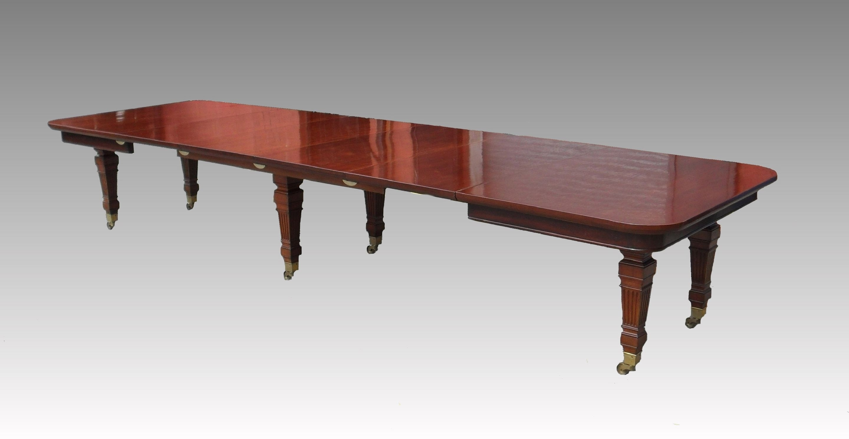 Mahogany Extending Dining Tables For 2017 Gillows Victorian Mahogany Extending Dining Table (1880 To  (View 10 of 25)