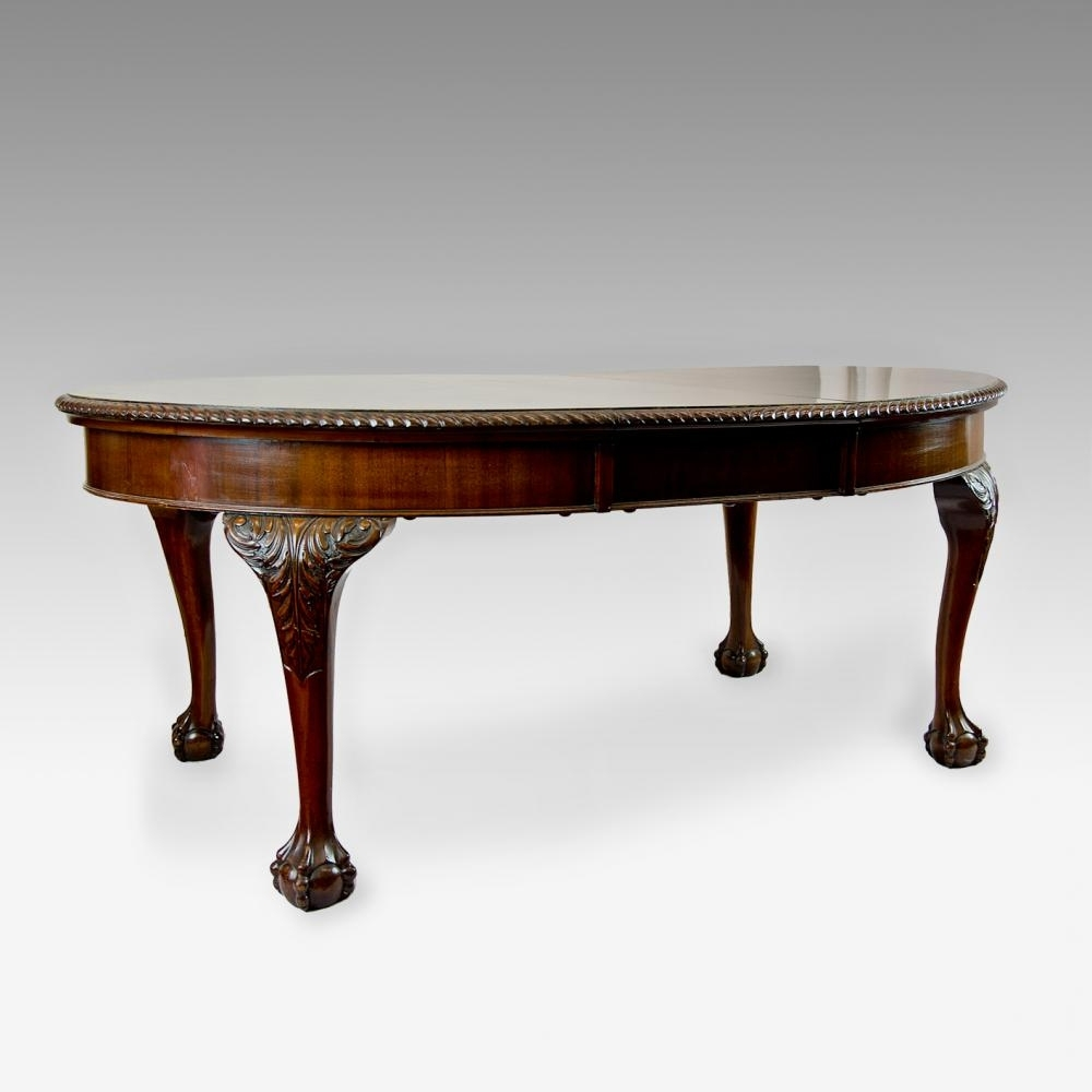 Mahogany Extending Dining Tables Pertaining To Favorite Antique Mahogany Extending Dining Table – Johncowderoyantiques.co (View 14 of 25)