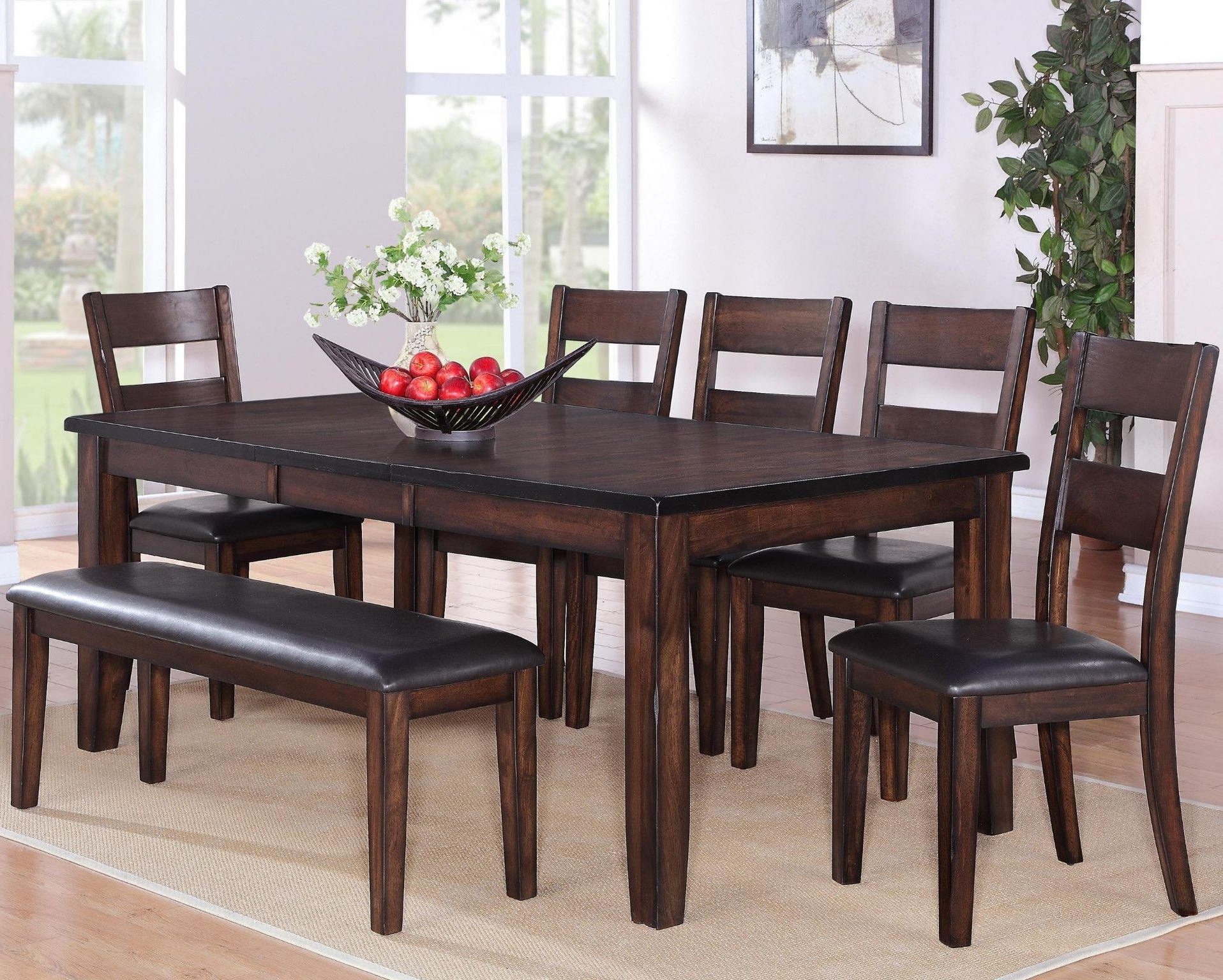Maldives 5 Piece Dinette Table And 4 Chairs $699.00 Table $459.00 42 With Regard To Fashionable Craftsman 7 Piece Rectangular Extension Dining Sets With Arm & Uph Side Chairs (Gallery 3 of 25)