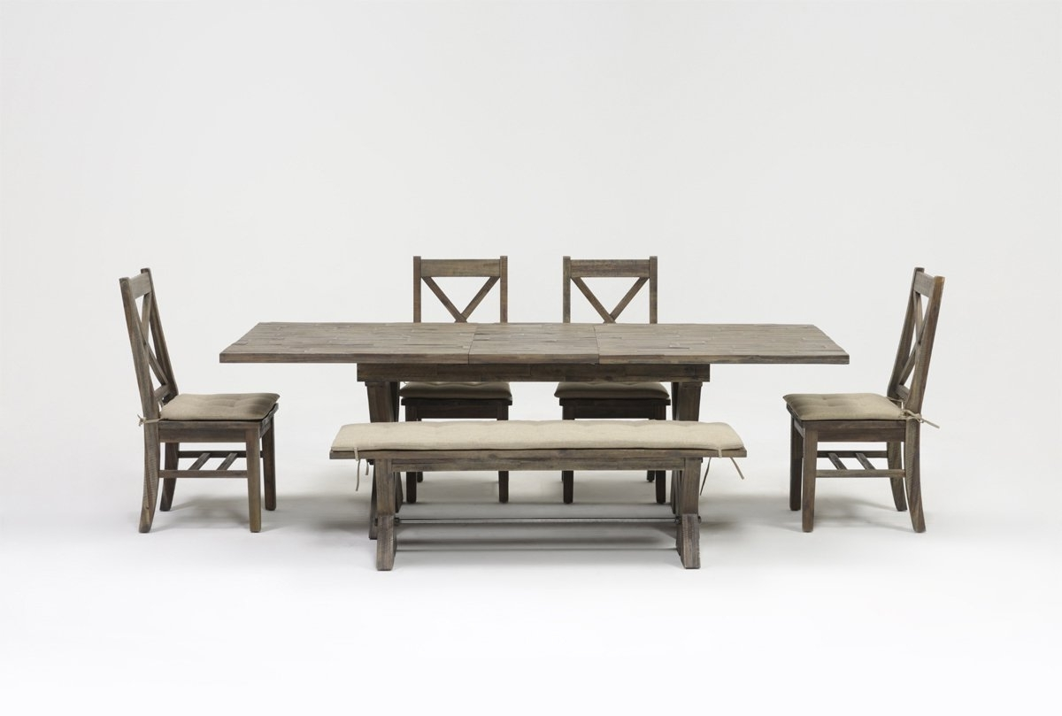 Mallard 6 Piece Extension Dining Set (View 4 of 25)