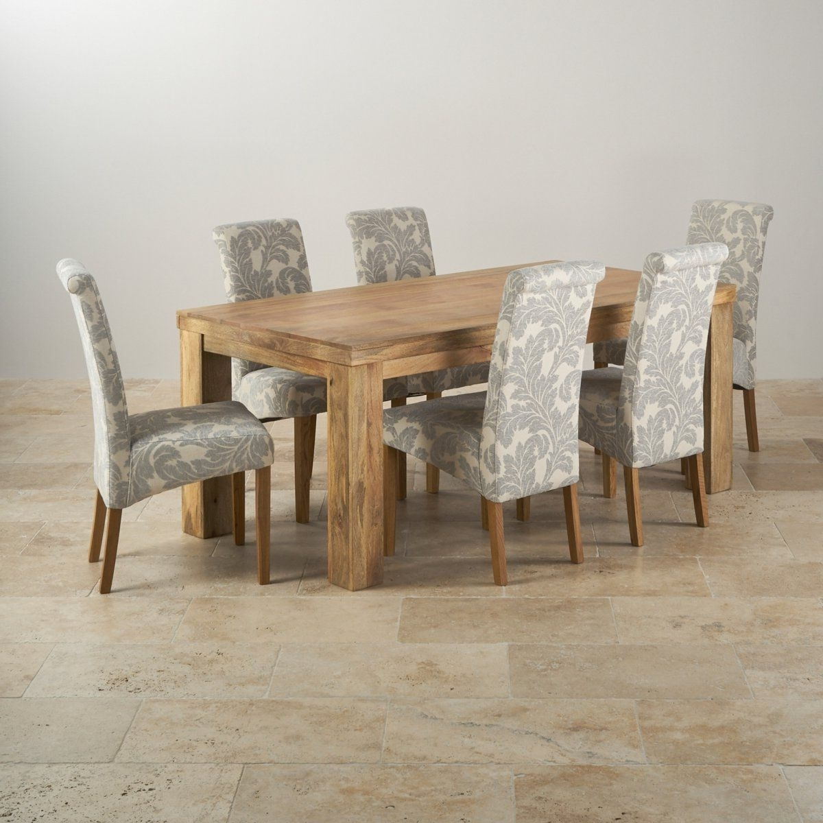 Mantis Light Natural Solid Mango 6Ft X 3Ft Dining Table + 6 Inside Most Current 3Ft Dining Tables (View 14 of 25)