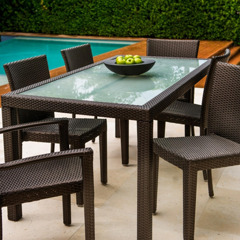 "Marbella 36"" Square Dining Table – Dining Tables From Kannoa Throughout 2018 Marbella Dining Tables (View 6 of 25)"