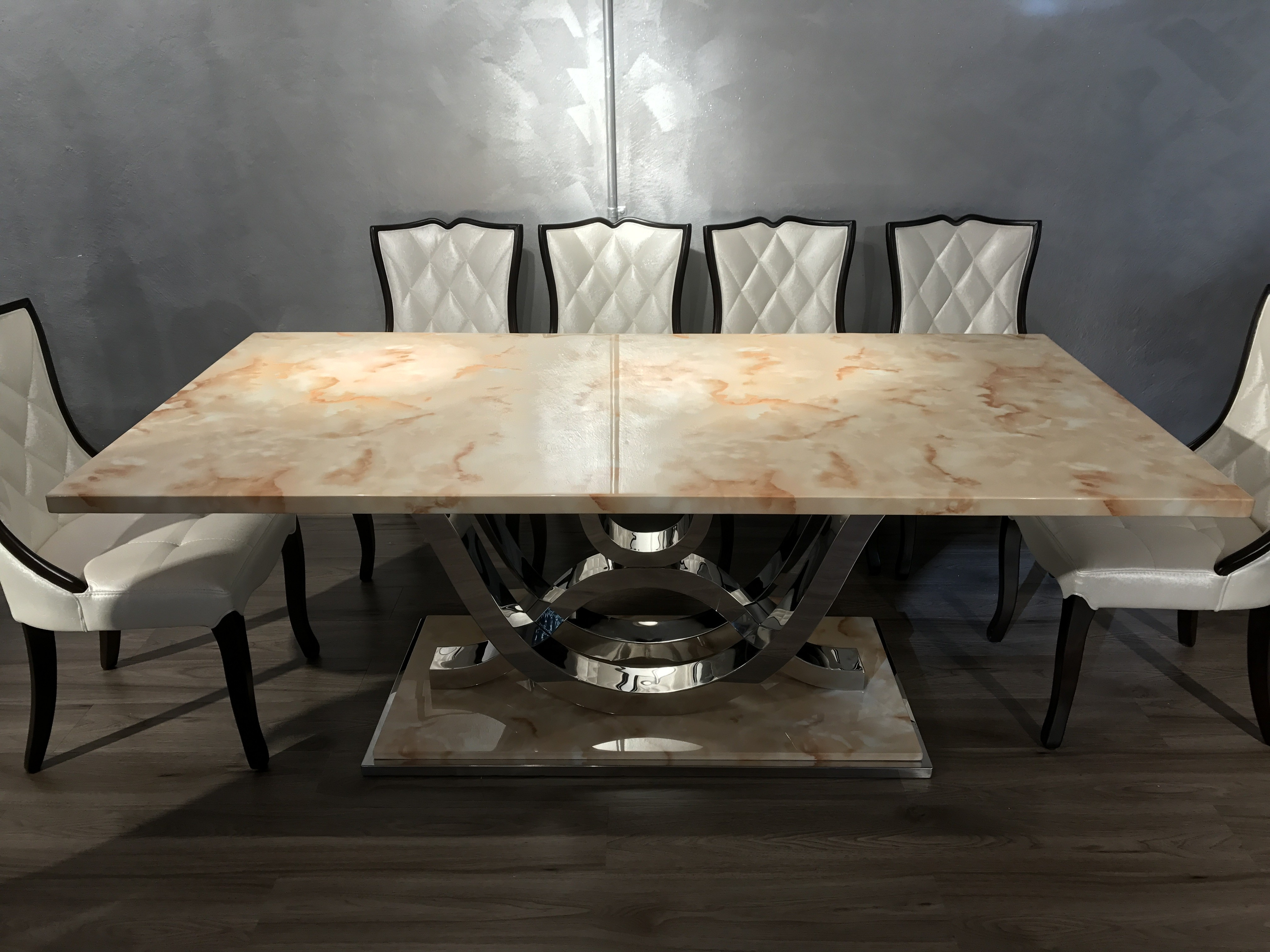 Marbella Dining Tables With Regard To Newest Marbella Marble Dining Table – Tables – Living Room (View 8 of 25)