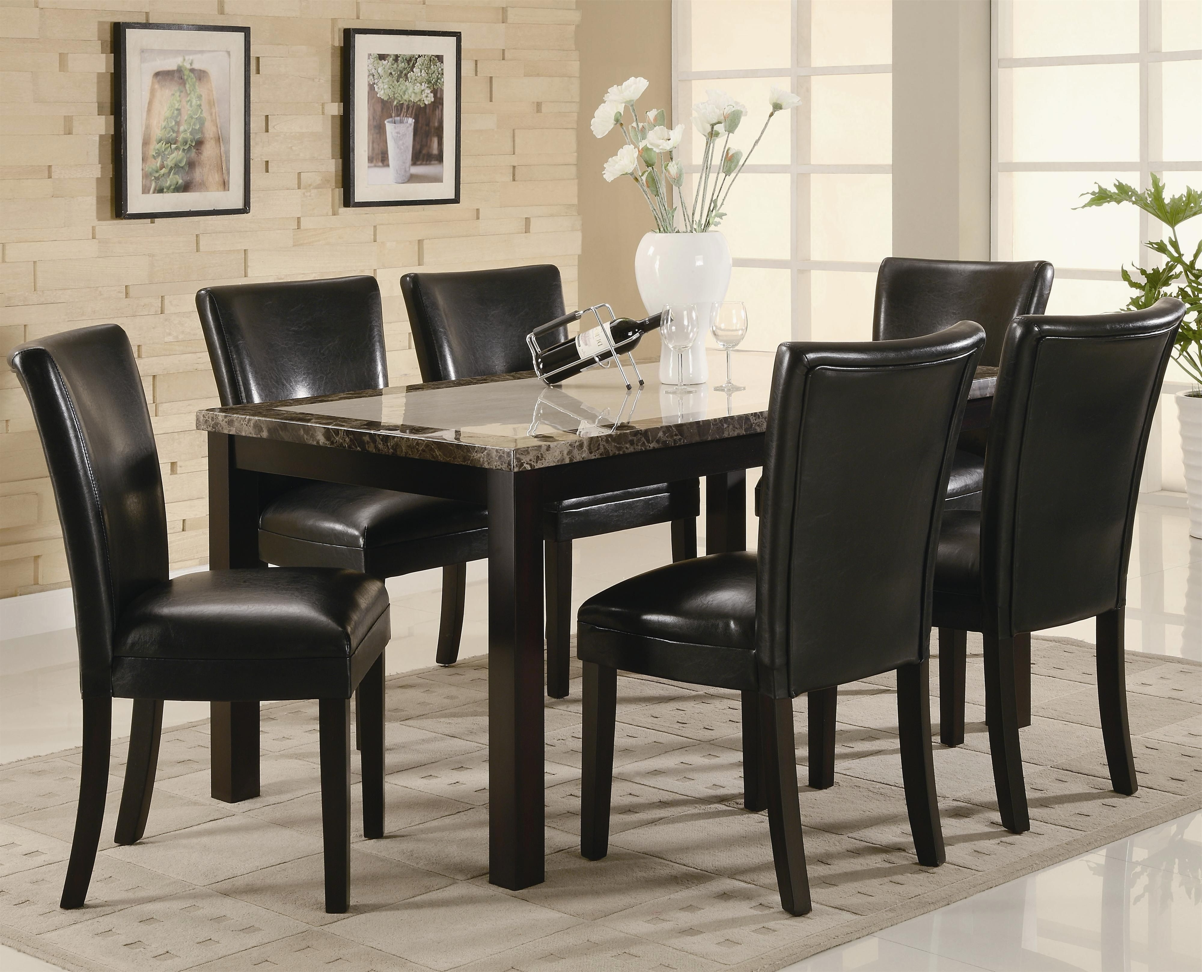 Marble Dining Chairs In Well Liked (View 21 of 25)