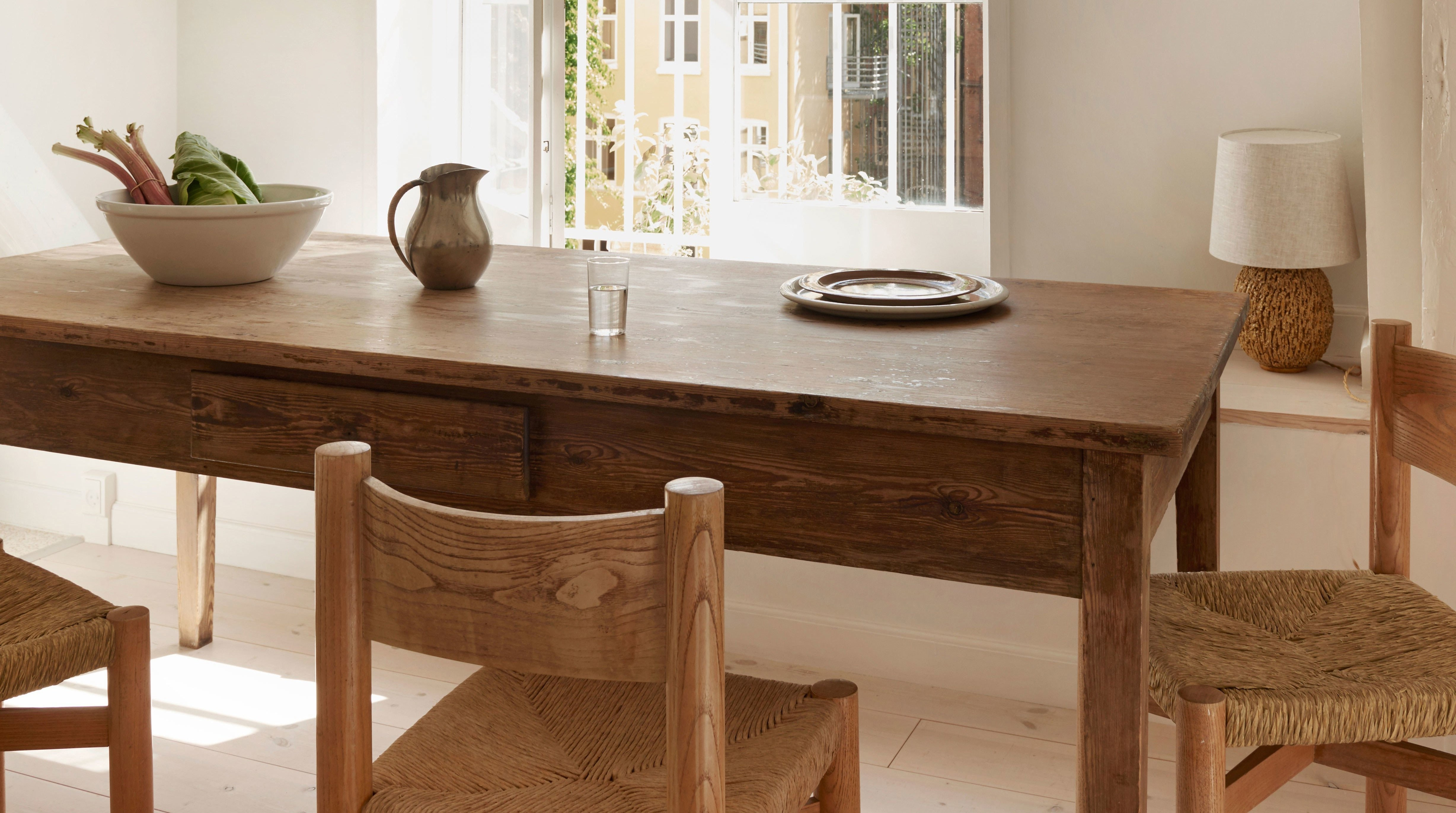 Market 6 Piece Dining Sets With Side Chairs Regarding Most Up To Date How To Refinish A Table (It's Actually Extremely Easy (View 22 of 25)