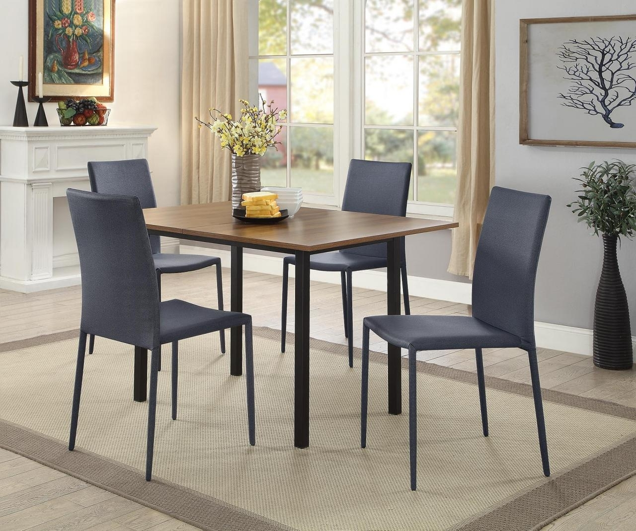 Market 7 Piece Dining Sets With Side Chairs Throughout Favorite Table And Chair Sets Kitchen Appliances, Furniture, And Mattress In (Gallery 22 of 25)
