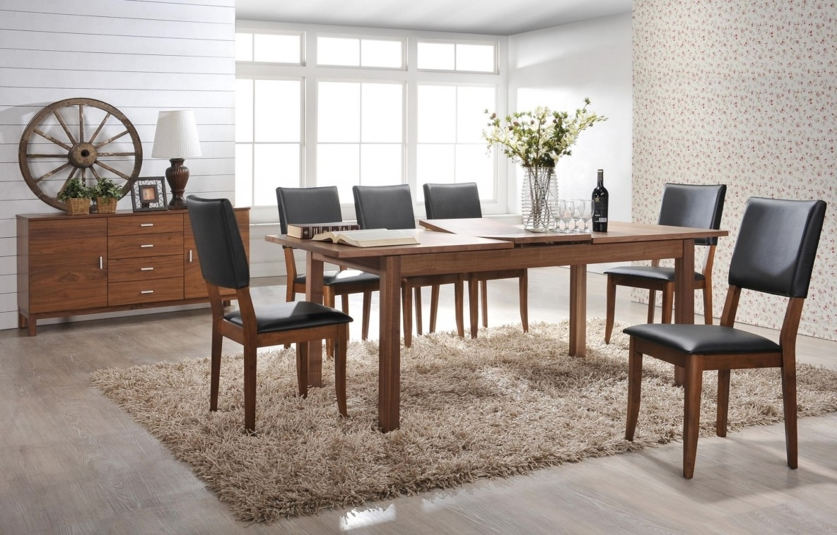 Market 7 Piece Dining Sets With Side Chairs Within Most Up To Date Dining Room Furniture (Gallery 8 of 25)