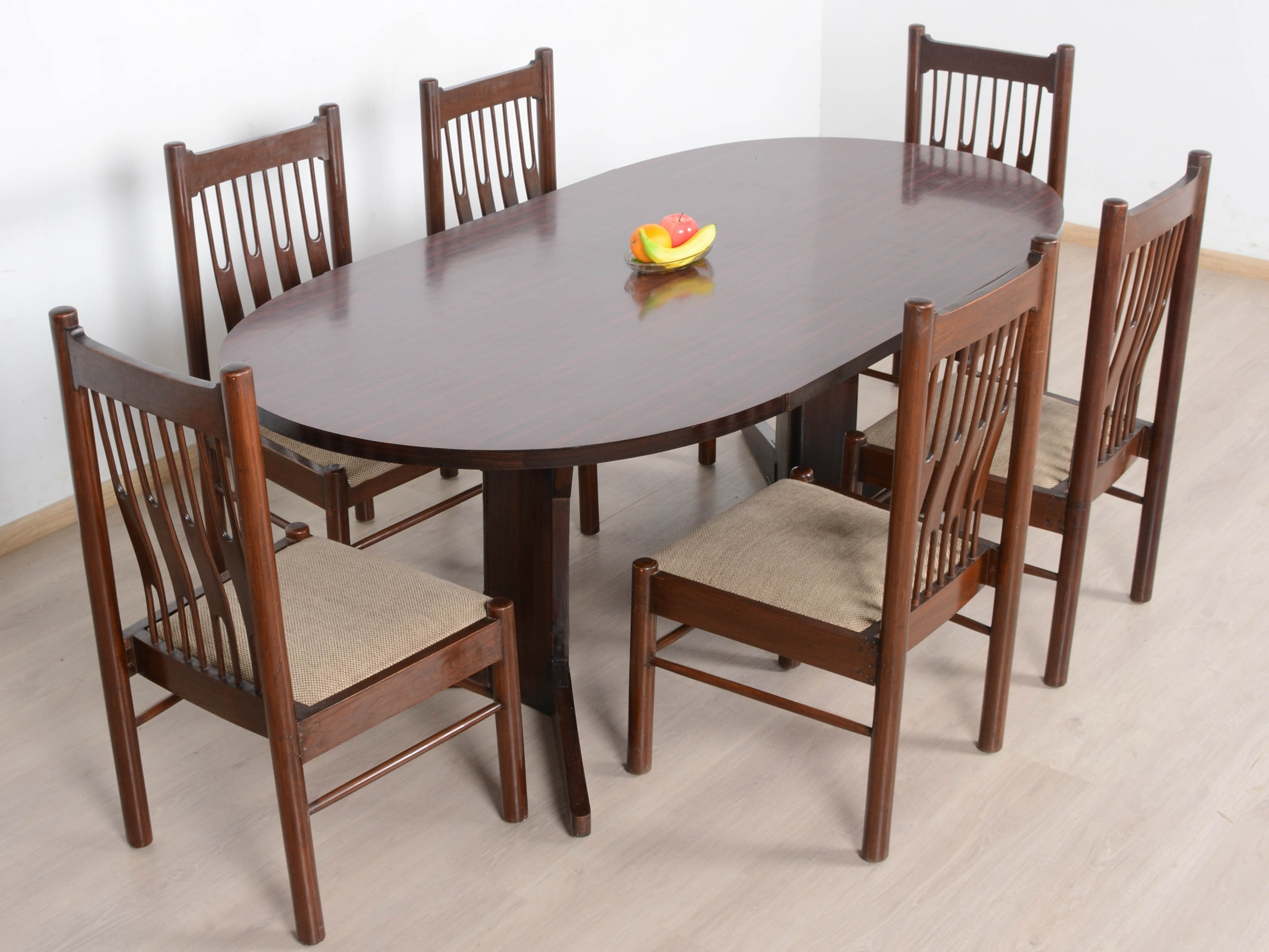 Mason Teak 6 Seater Dining Table Set: Buy And Sell Used Furniture In Regarding Recent 6 Seater Dining Tables (View 8 of 25)
