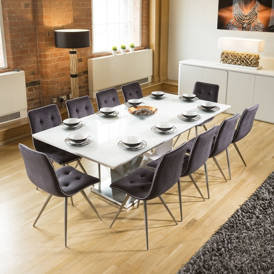 Massive 10 Seater Dining Set (View 23 of 25)