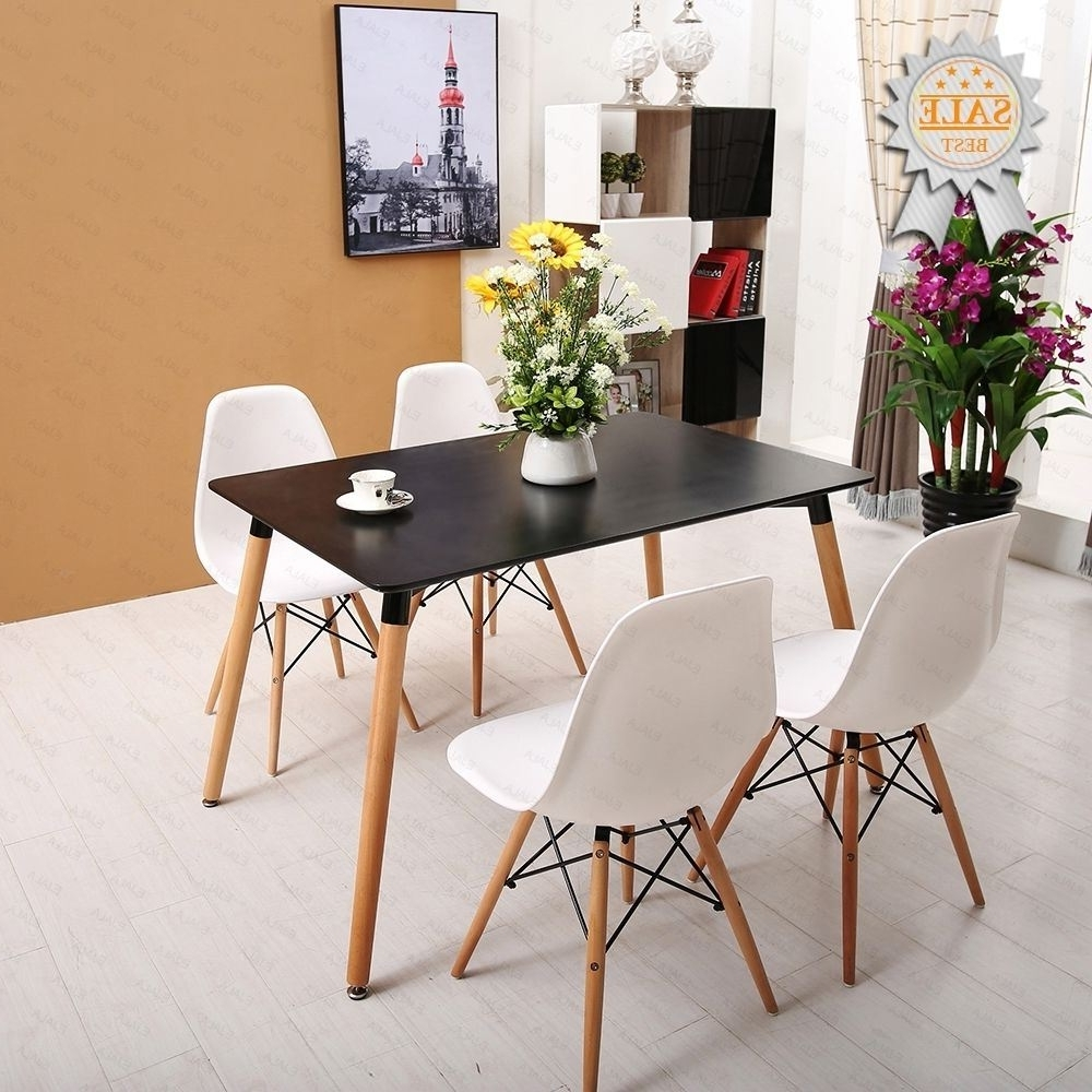 Mmilo Dining Table X Cm Cm White Dining Table With Coloured Chairs Pertaining To Famous Colourful Dining Tables And Chairs (View 12 of 25)