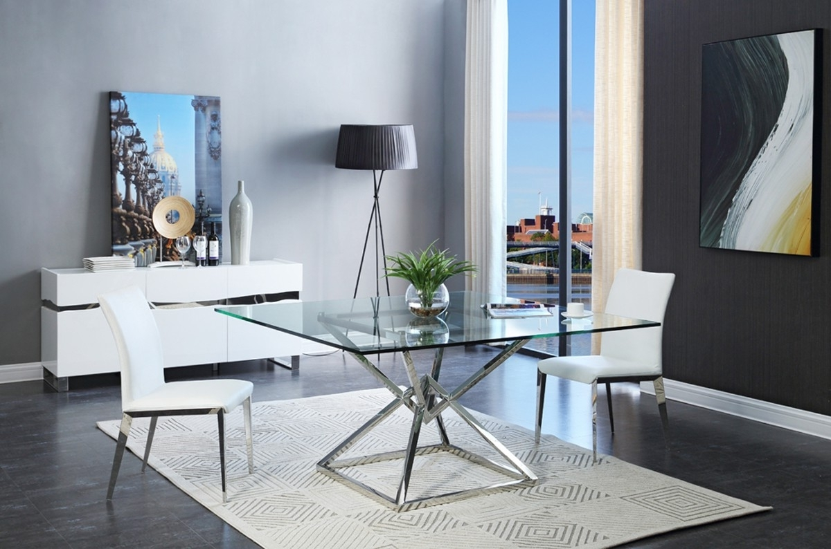 Modern Dining Table Glass : The Holland – Nice, Warm And Cozy Modern With Favorite Contemporary Dining Furniture (View 15 of 25)