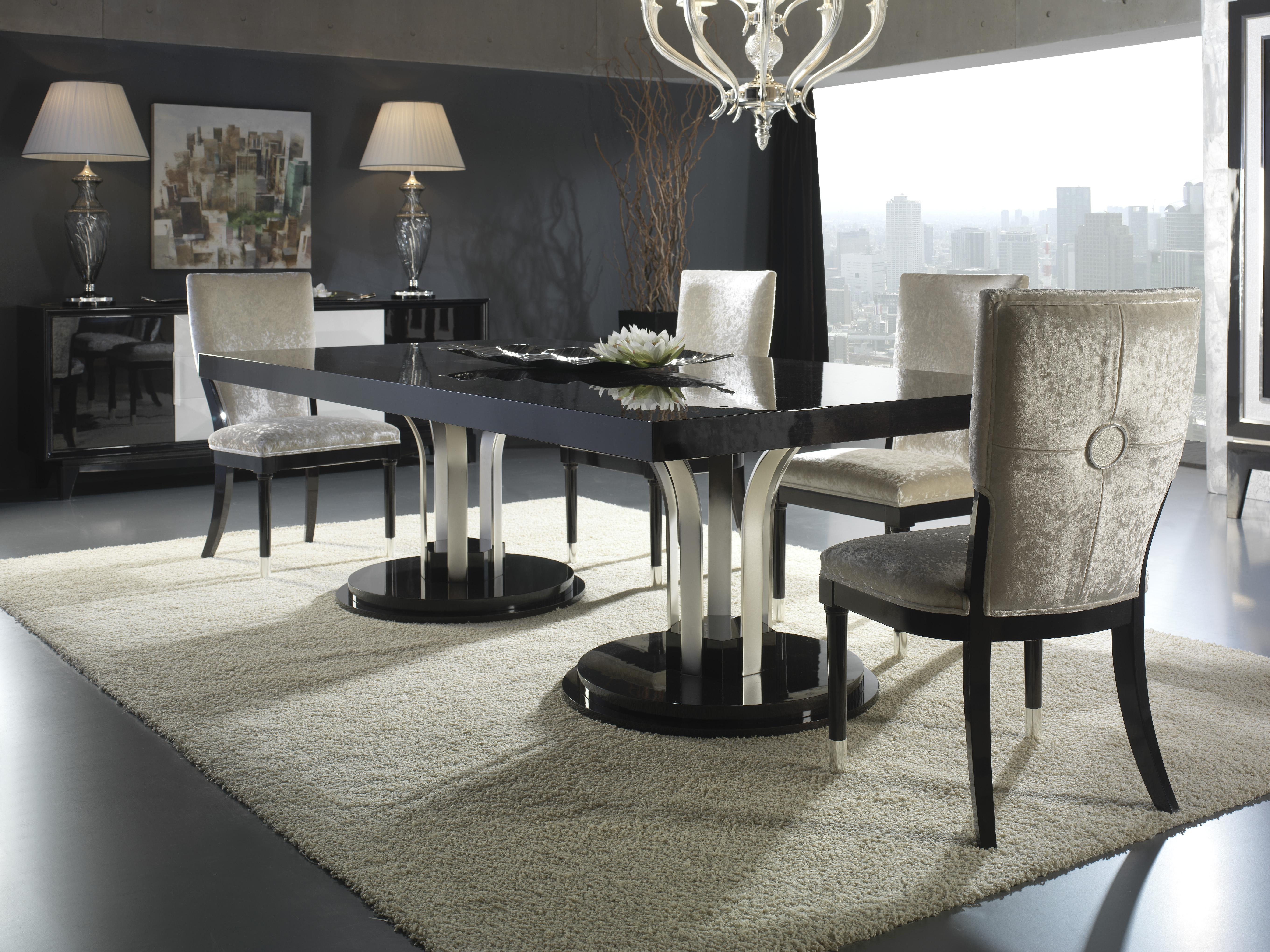 Modern Dining Tables And Chairs With Regard To Most Popular Furniture Modern Dining Tables (View 15 of 25)