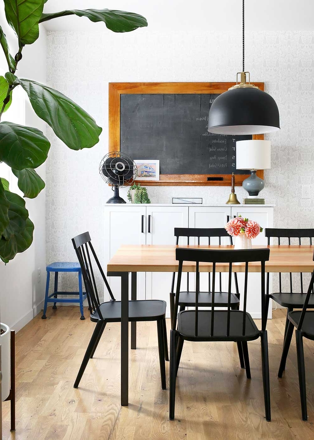 Modern Farmhouse Dining Room – The Faux Martha Inside Most Current Kirsten 6 Piece Dining Sets (View 14 of 25)