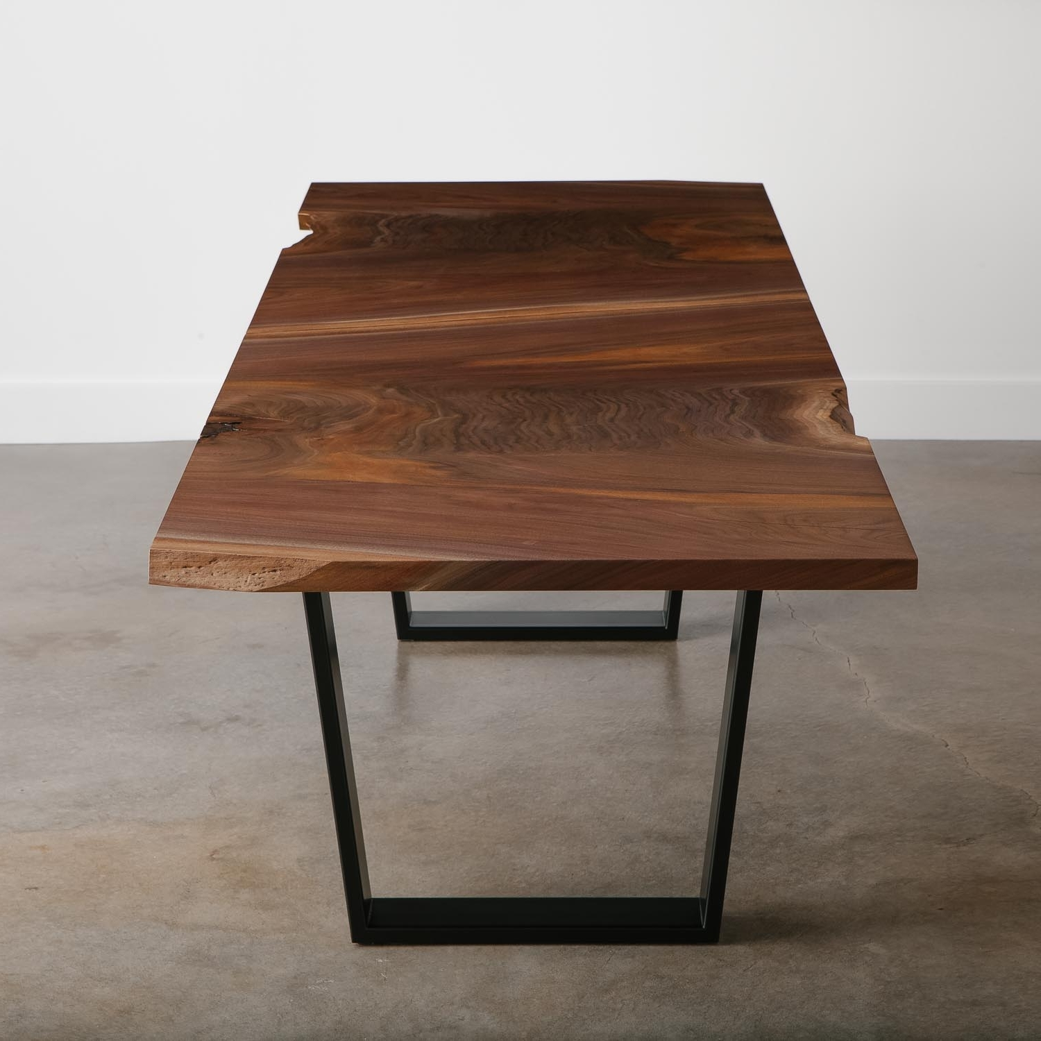 Modern Live Edge Furniture In Walnut Dining Tables (View 8 of 25)