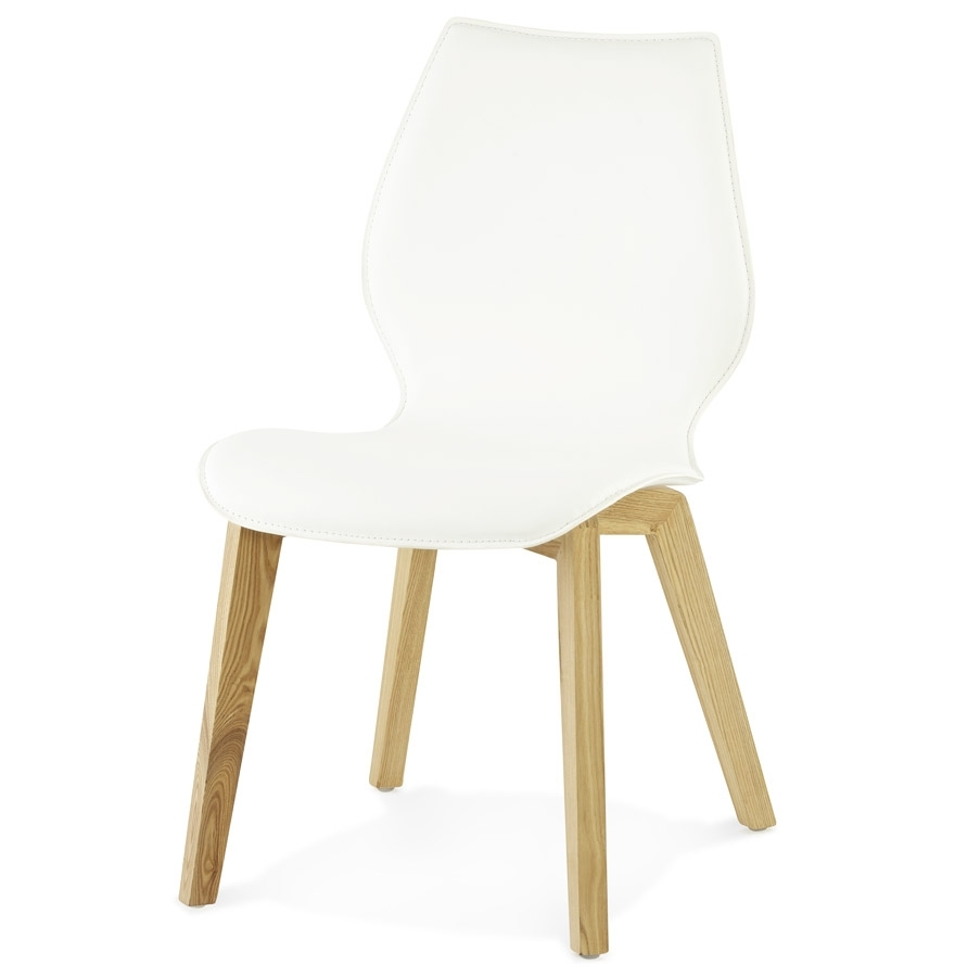 Modern White Dining Chair With Well Liked White Dining Chairs (Gallery 25 of 25)
