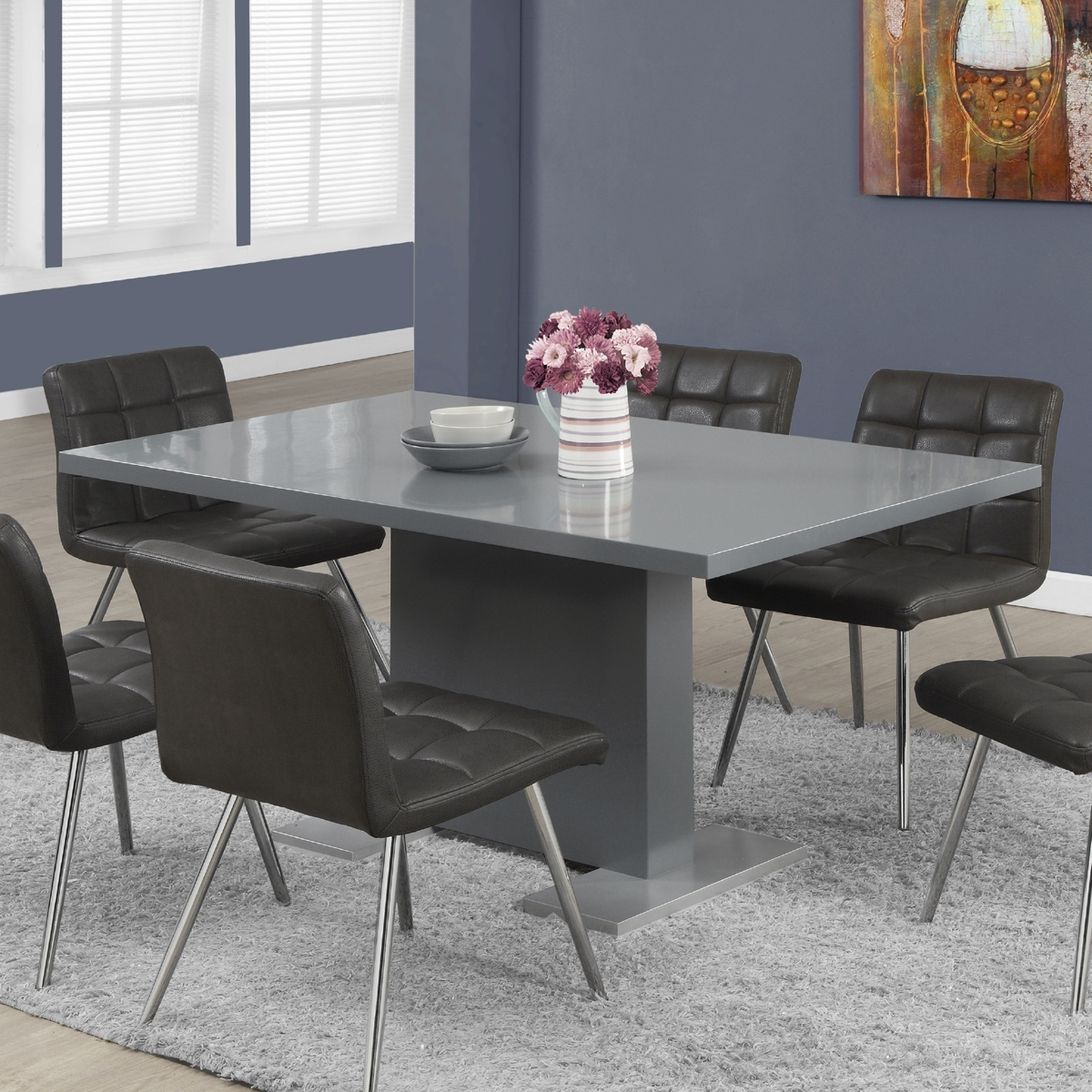 Modgsi Dining Furniture Vancouver Inside Grey Dining Tables (Gallery 6 of 25)