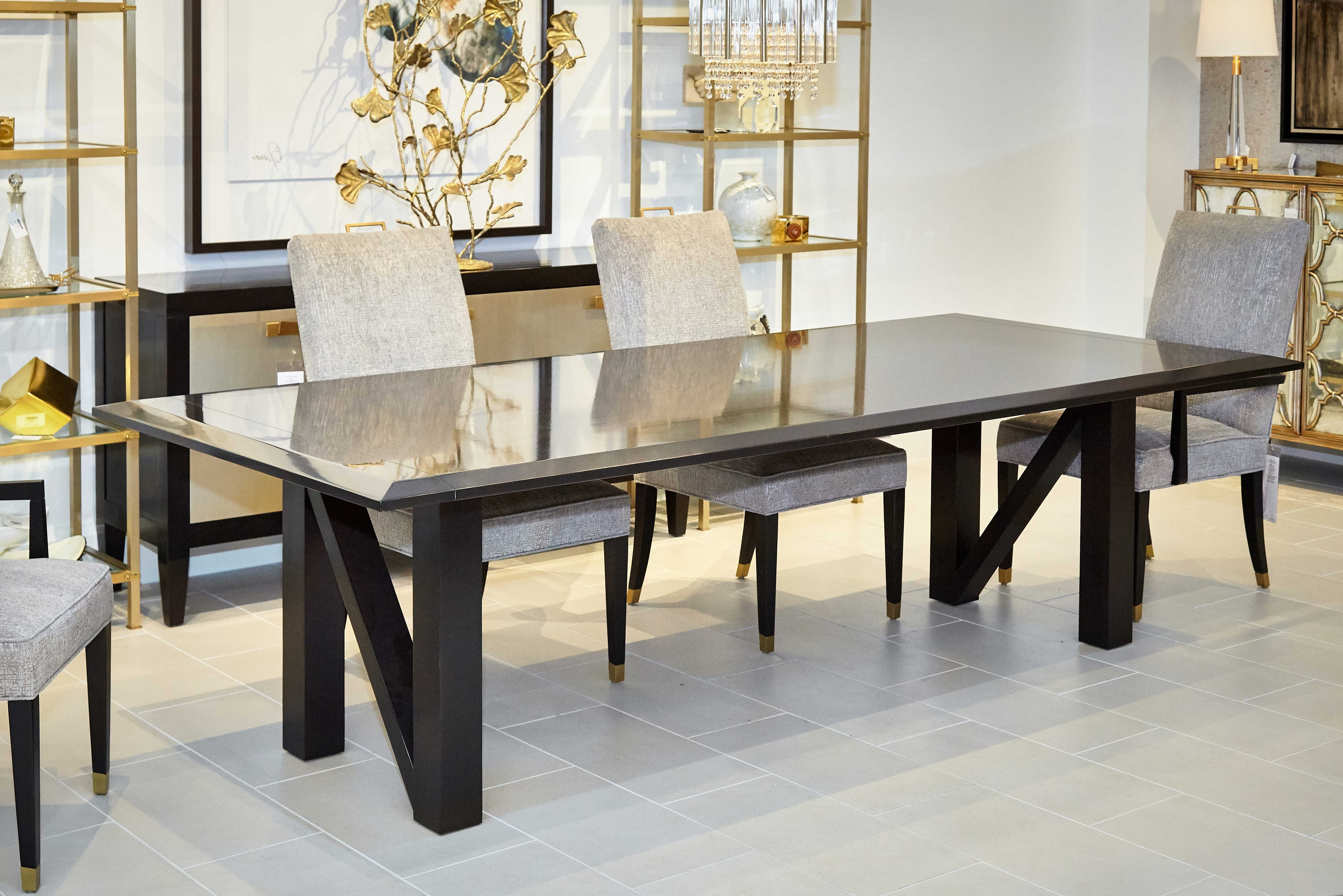 Monaco Dining Tables Throughout Famous Monaco Dining Table : Dining Room : Dining Tables : Chaddock Co (View 20 of 25)