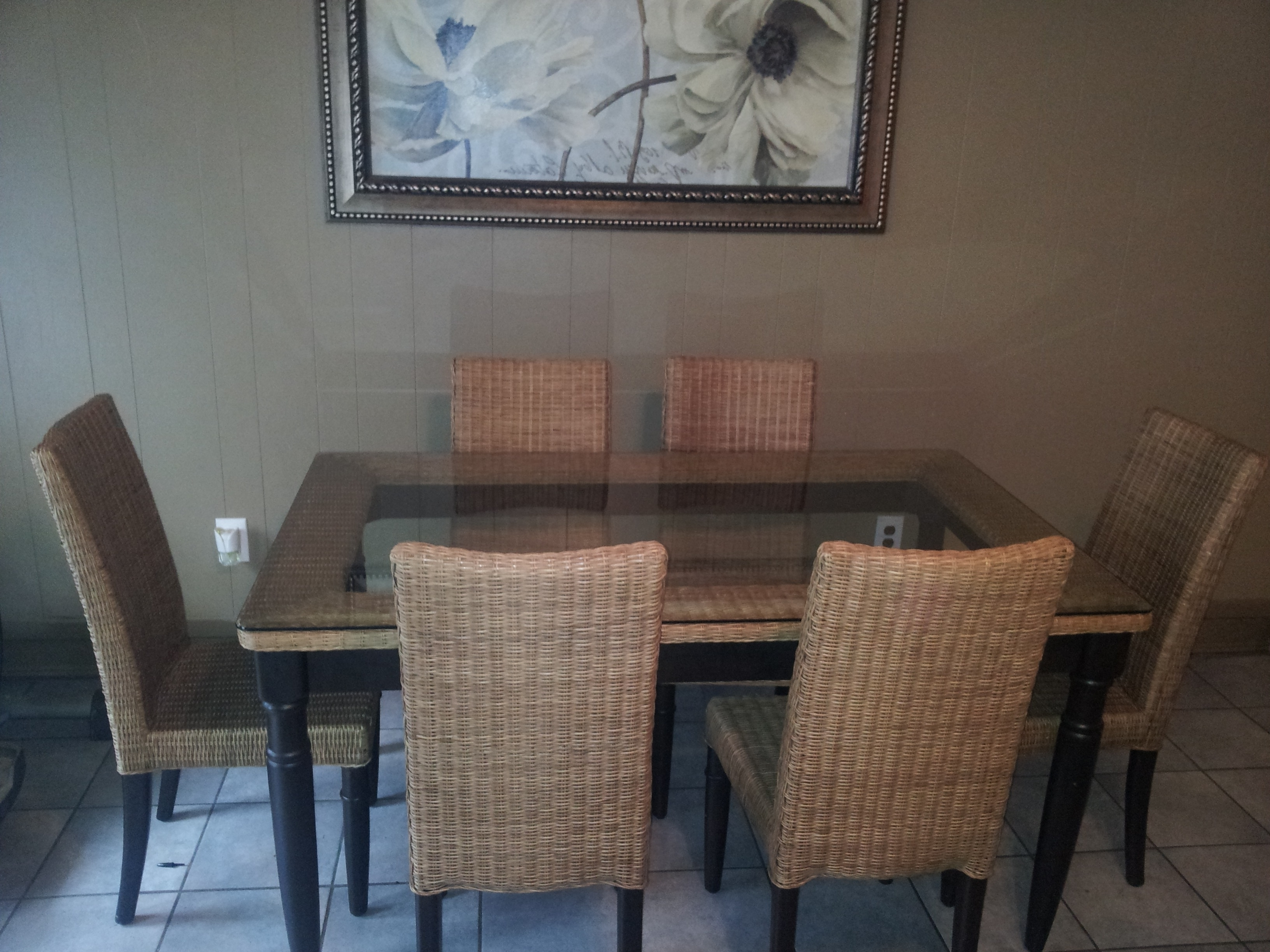 More Ideas Wicker Dining Table With Glass Top Tips At New Home Design Pertaining To Most Up To Date Wicker And Glass Dining Tables (View 9 of 25)